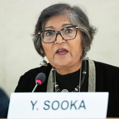 Statement in Support of Yasmin Sooka