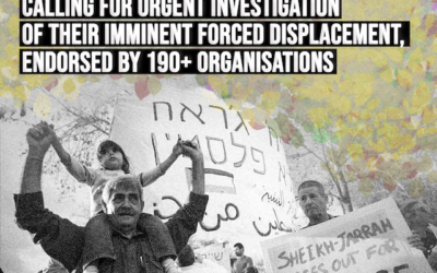 Joint Letter: Sheikh Jarrah Families Urge ICC Prosecutor to Investigate Forced Evictions in East Jerusalem
