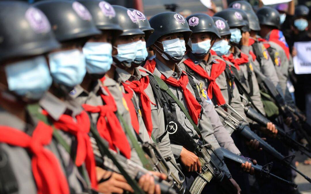 Australia's military cooperation with Myanmar
